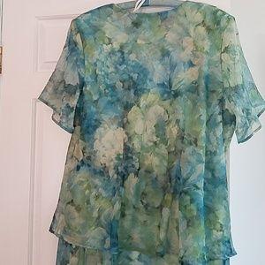 Dress Barn Dresses - NWOT Women's Long Dress- Dress Barn- Size 20W